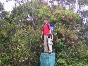 di puncak gunung pangrango