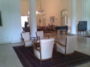 Bukti Sejarah, Ruangan di dalam Istana Bogor